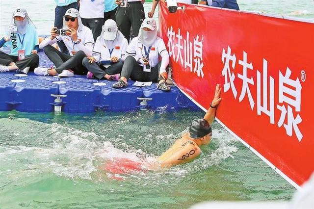 广东公开水域游泳新突破 深圳刘树义摘金