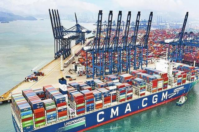 深圳港一季度集装箱吞吐量达722万标箱 同比增长35.31%