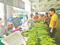 蔬菜生鲜昨全面恢复供应