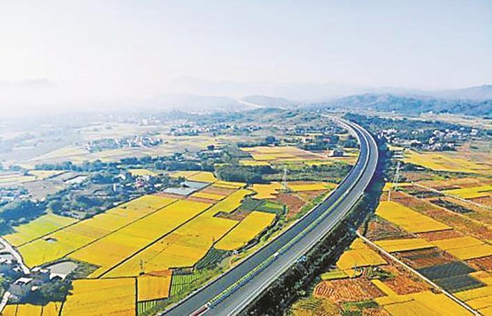 武深高速广东段于本月底将全线贯通