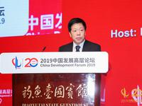 中国发展高层论坛2019峰会召开