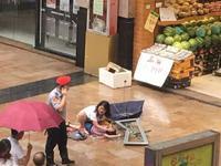 深圳6岁男童被高楼玻璃窗坠落砸中