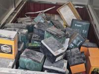 男子盗窃电动车电池56组被拘