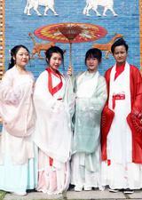 中秋节我们一起穿越到汉服时代