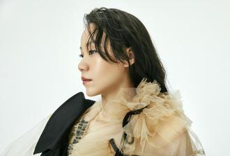 羽毛球名将赵芸蕾拍摄时尚写真