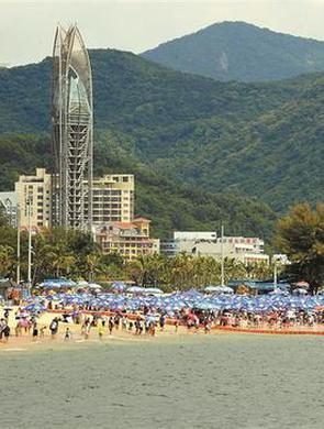 大梅沙假期每天可预约名额8万