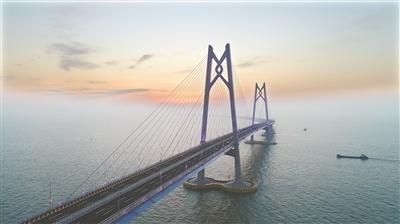 港珠澳大桥风采绝世 广州日报全媒体记者卢政摄