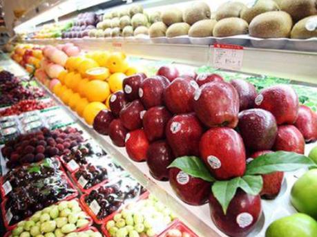 """进口""""洋水果""""走俏深圳年货市场"""