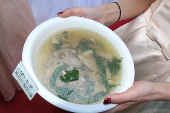 枸杞叶猪肝汤