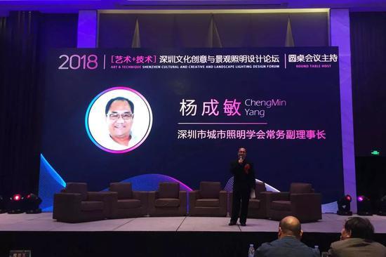 杨成敏-深圳市城市照明学会常务副理事长