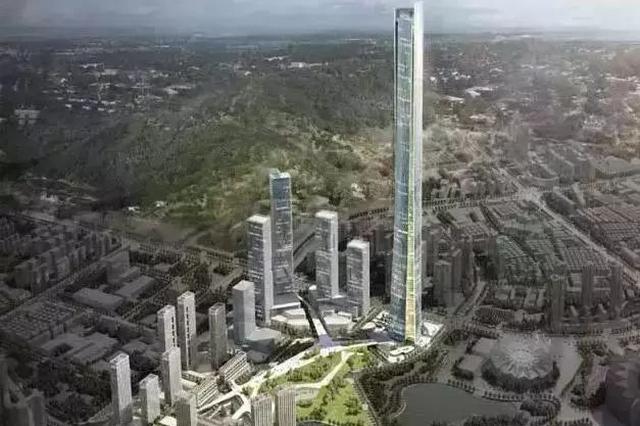 600米刷新深圳高度 大运总部商务区一地块将建超高层建筑
