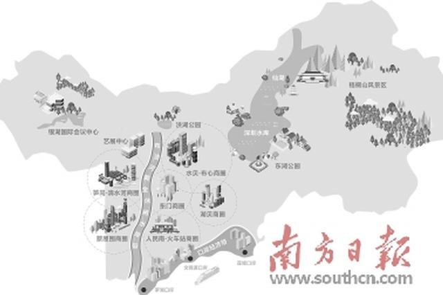 """对标纽约东京和首尔 罗湖推出""""全域消费""""地图"""