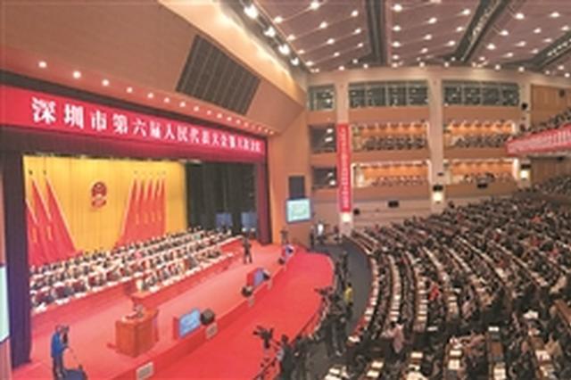 深圳市六届人大六次会议昨开幕 深圳GDP今年预期增8%