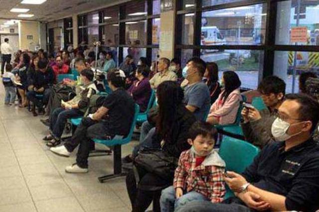 香港冬季流感高峰将持续 公立医院求诊人数春节期间较多