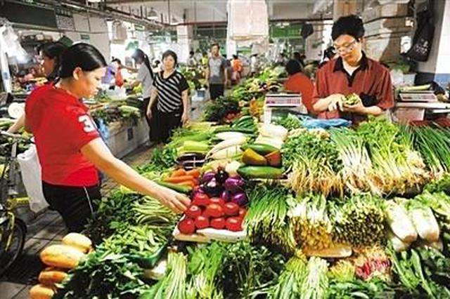 深圳蔬菜价格呈春节模式波动 近期蔬菜价格将回落