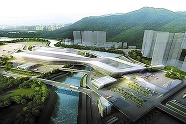 深圳莲塘口岸工程主体高架桥合拢 争取今年底完成口岸