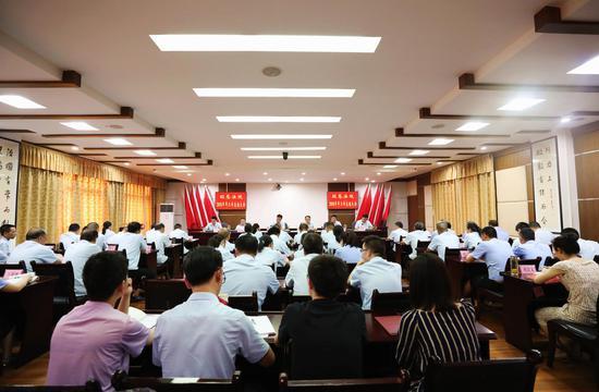 旺苍县人民环保部固管中心威海小吃攻略法院召开2018年半年工作总结会