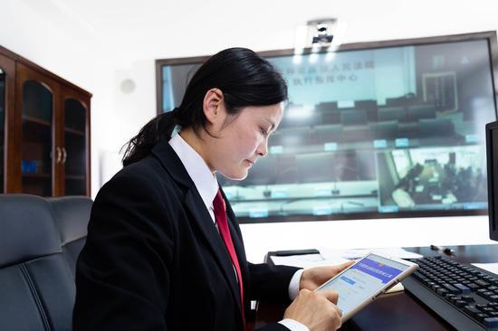 通化东昌区法院全国跨域立案演练测试成功