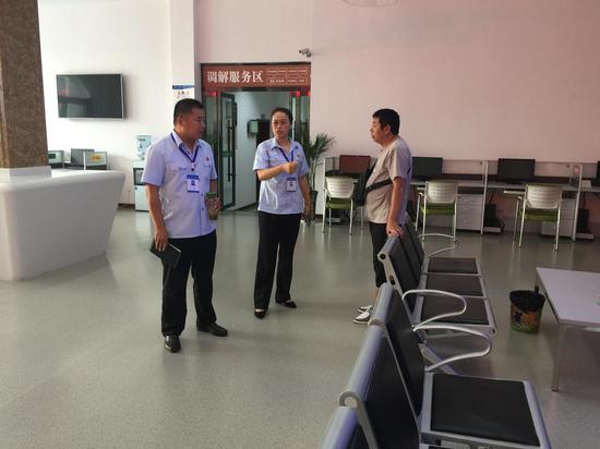 讨论扫描中心成立所需设施及设备