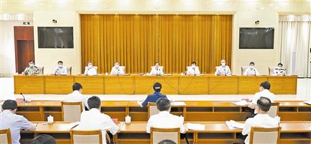 郭声琨:推动政法领域全面深化改革走深走实