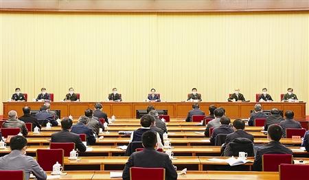 郭声琨:努力推动建设更高水平的平安中国