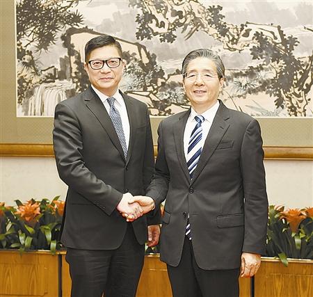 郭声琨:支持香港警方为恢复秩序不懈努力