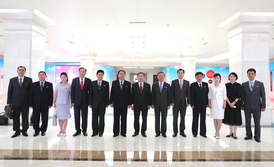 傅政华:中朝两国司法领域要拓展务实合作