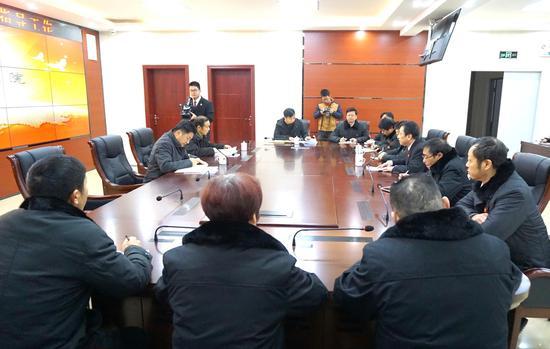 2018.1.9 建宁县委书记郑剑波到法院调研
