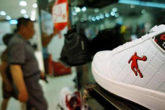 """中国乔丹体育和""""飞人""""乔丹的商标纠纷还没完。"""