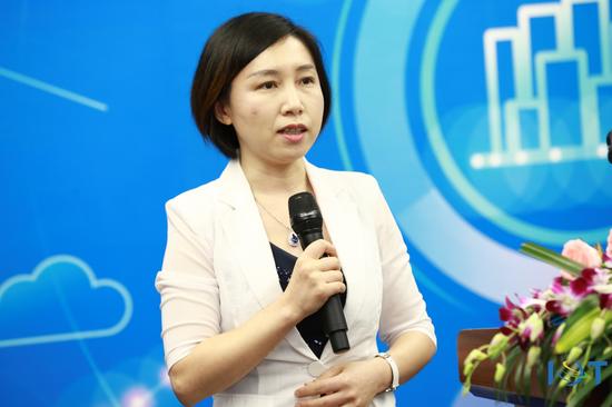 华为ICT市场管理与营销运作部长胡康燕博士致辞