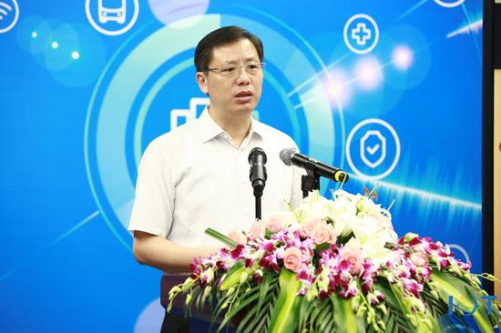 上海市经济信息化委副主任张建明致辞