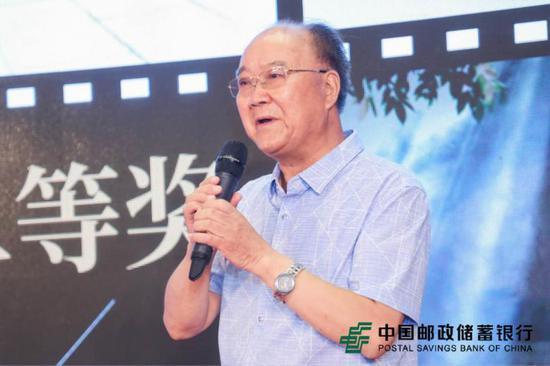 二等奖获奖选手高怀富先生发表获奖感言