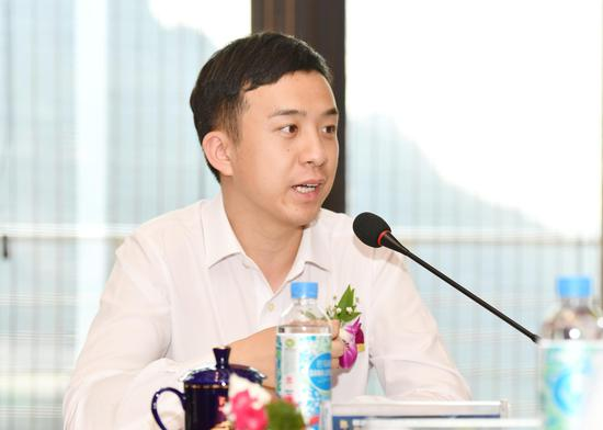 ▲郎酒股份副董事长、郎酒品质研究院理事长汪博炜
