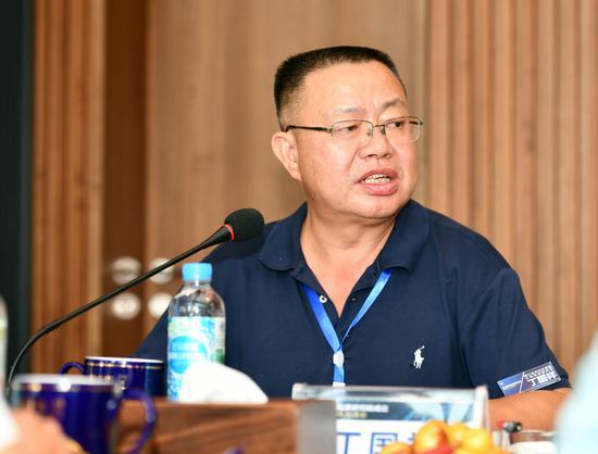 ▲四川省农业科学院水稻高粱研究所研究员、品质研究院合作单位代表丁国祥