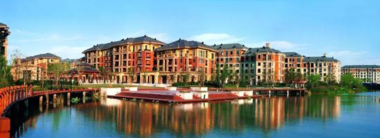 海宁百合新城实景图