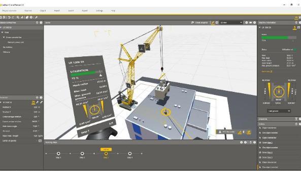 Crane Planner 2.0现在支持虚拟现实工作流程