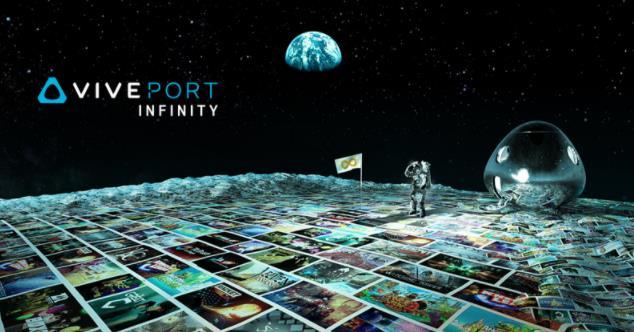 每年99美元 HTC4月2日起推出无限Viveport Infinity服务
