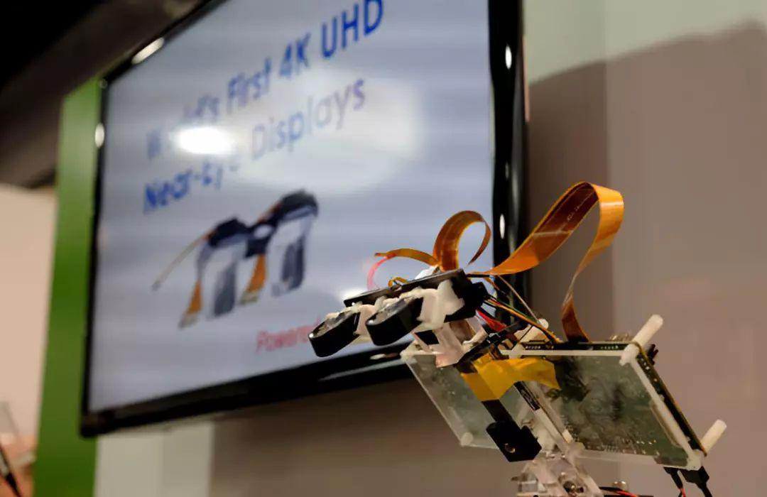 耐德佳携手晶典推出全球首款4K UHD分辨率超高清AR显示模组