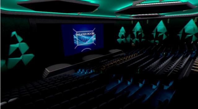 索尼为日本PSVR用户带来社交VR影院应用Theater Room VR