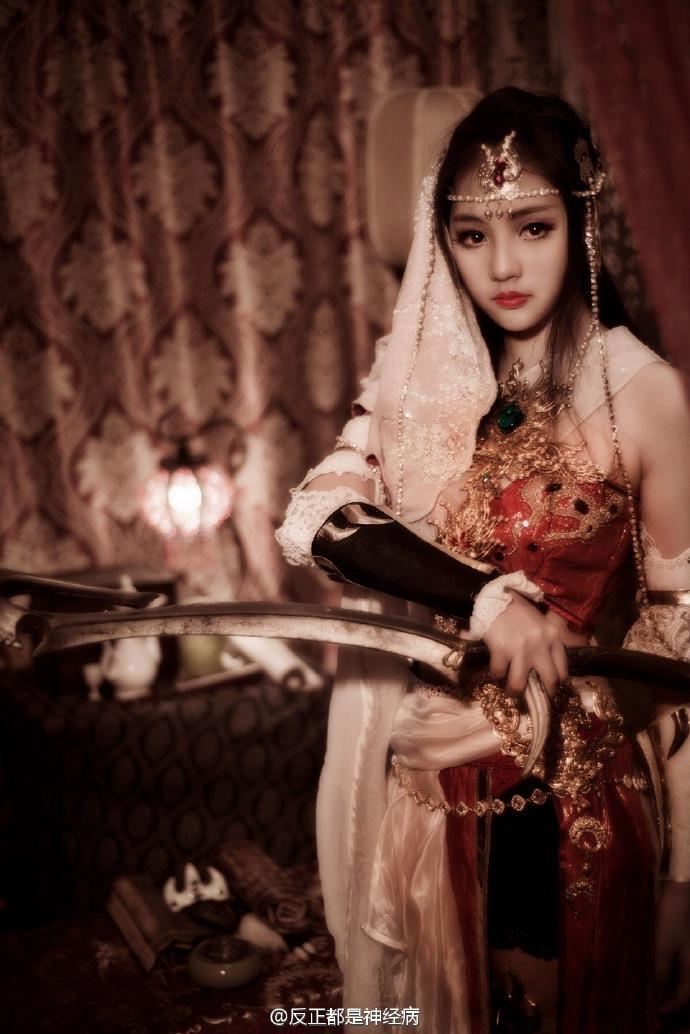 3》明教西域舞娘COS赏_新浪剑网3专区室内装修设计加盟图片