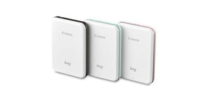 佳能发布新款移动式照片打印机IVY支持AR编辑