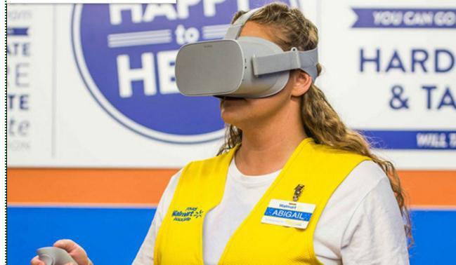购入17000台Oculus Go,沃尔玛启动全美VR培训计划