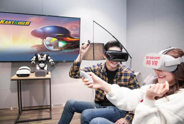 MWC 2019:韩国将于3月推出5G智能手机VR游戏