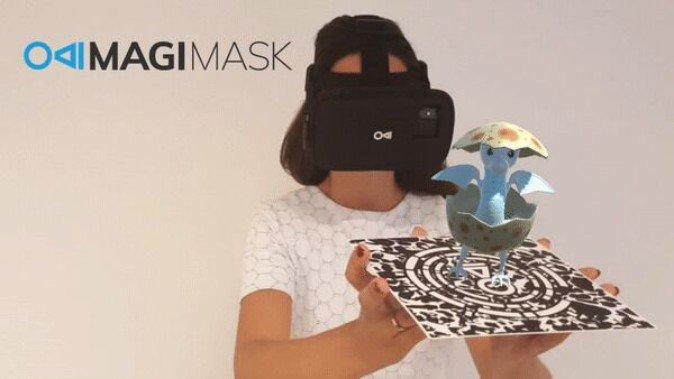 仅售99美元 AR头显MagiMask预计2019年Q1发售