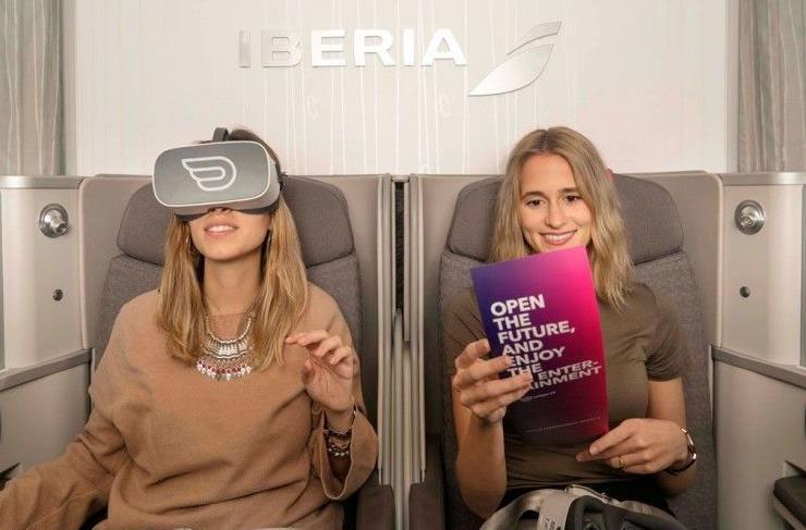 Iberia和Inflight VR联手 将VR技术应用于Iberia航空公司的飞机上