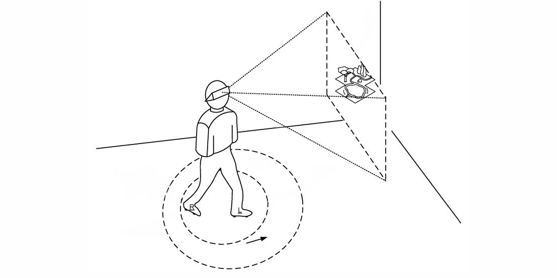 已经申请专利 谷歌正在研究带有微型电动轮的VR鞋