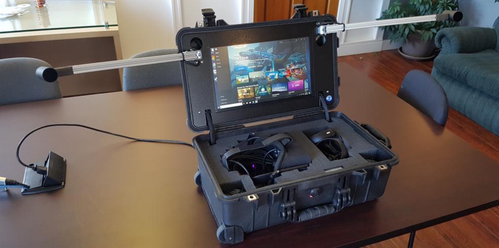 这款便携式Oculus Rift设备可以在60秒内准备好