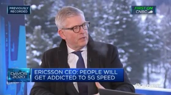 爱立信CEO:在5G领域没有哪家公司能超越爱立信