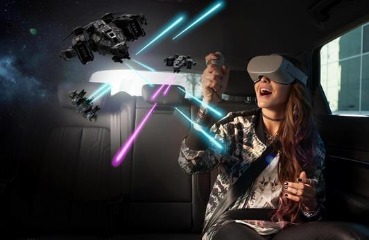 福特联合环球影视为《科学怪人的新娘》打造车内VR体验