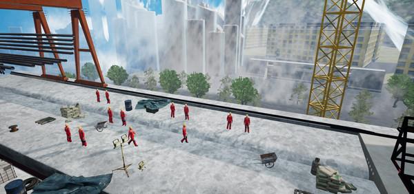 售价1400元 VR施工安全培训系统上线